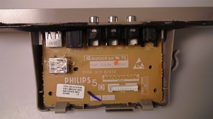 Picture of 310432844121, 310431361412, Side A/V Board, PHILIPS SIDE INPUT, 50PF9631D/37 SIDE INPUT, NEB, 7C