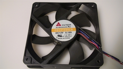 Picture of 0973-1200-3060, 0973-1200-4060, FD121225LB, TV FAN, PLASMA FAN, VIZIO FAN, P50HDM FAN, NEB, F2N