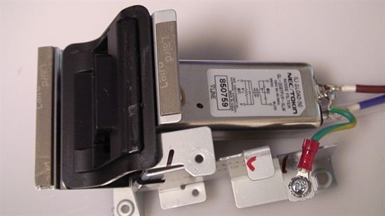 Picture of GL-2087FVP-XLW, 8529Z8, 850659, NOISE FILTER, TV AC FILTER LINE, PANASONIC AC FILTER LINE, NEB, A2C