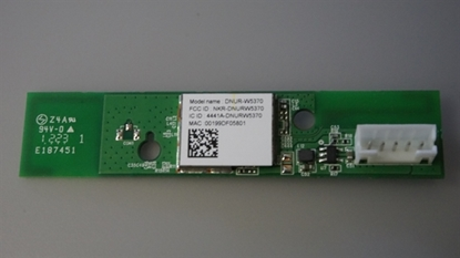 Picture of DNUR-W5370, E187451, 50.73U09.001, 48DNUR14.0GA, E422AR, E420I-A1, WIRELESS LAN, VIZIO 42 LCD TV WI FI MODULE